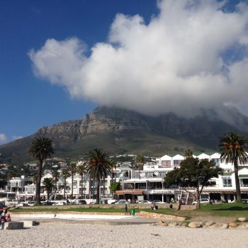 Camps Bay Kapstadt Südafrika Tafelberg