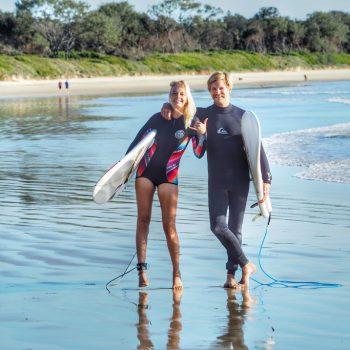 Spot X Mojo Surf Arrawarra Australien Surfcamp